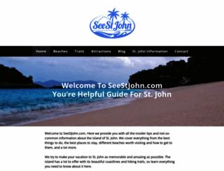 seestjohn.com screenshot