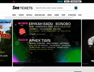 seetickets.com screenshot
