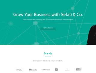 sefati.net screenshot