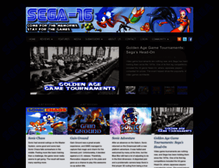sega-16.com screenshot