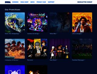 sega.com screenshot