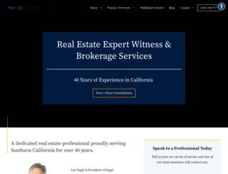 segalcommercial.com screenshot