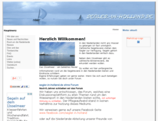 segler-in-holland.de screenshot