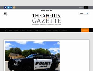 seguingazette.com screenshot