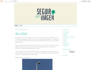seguiremviagem.blogspot.com screenshot