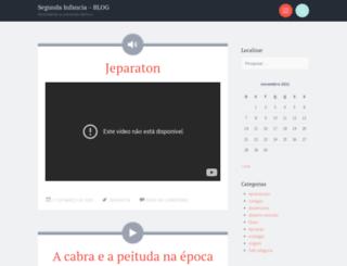 segundainfancia.wordpress.com screenshot