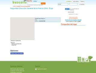 seguridad-direccion-general-de-la-policia-dni--sevilla.buscalis.com screenshot