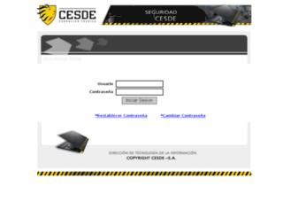 seguridad.cesde.edu.co screenshot
