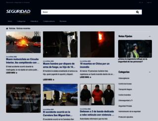 seguridadenamerica.com.mx screenshot