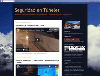 seguridadentuneles.blogspot.com screenshot
