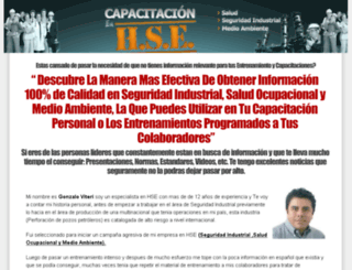 seguridadindustrialysaludocupacional.net screenshot