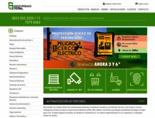 seguridadtotal.com.ar screenshot