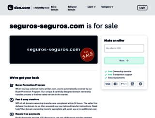 seguros-seguros.com screenshot