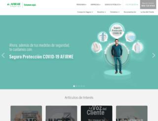segurosafirme.com.mx screenshot