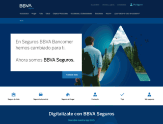 segurosbancomer.com.mx screenshot