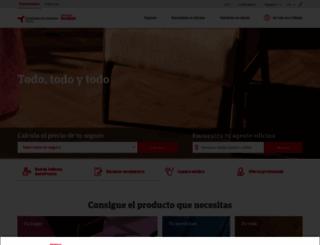 seguroscatalanaoccidente.com screenshot