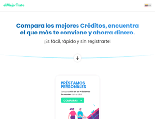 seguroscolombia.elmejortrato.com screenshot