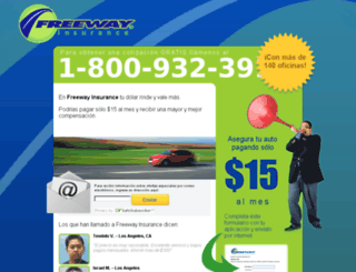segurosfreeway.com screenshot