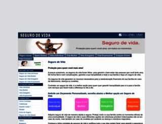 segurovidas.com.br screenshot