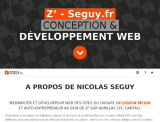 seguy.fr screenshot