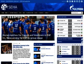seha-liga.com screenshot