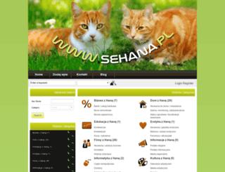 sehana.pl screenshot