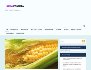 sehat-wanita.com screenshot