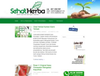 sehatherba.com screenshot