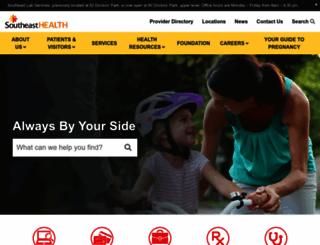 sehealth.org screenshot