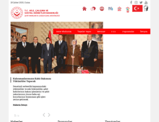 sehityakinlari.aile.gov.tr screenshot