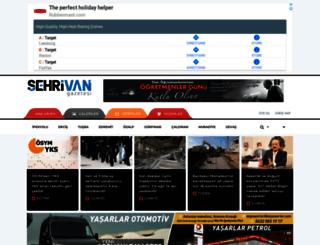 sehrivangazetesi.com screenshot