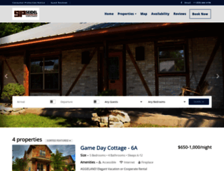 seidelproperties.com screenshot