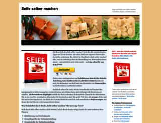 seife-selber-machen.com screenshot