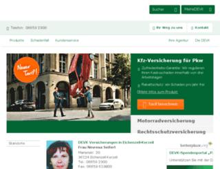 seifert-versicherung.de screenshot
