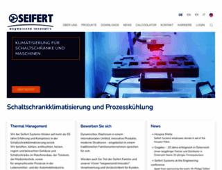 seifertsystems.com screenshot