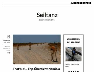 seiltanz.wordpress.com screenshot