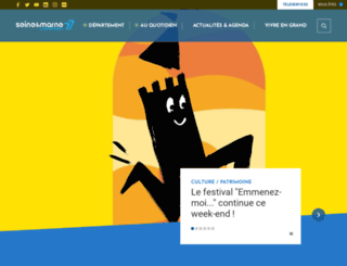 seine-et-marne.fr screenshot