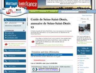 seine-saint-denis.guide-france.info screenshot