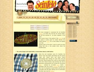 seinfeld-episode.blogspot.com screenshot