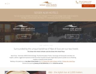 seiseralm.com screenshot