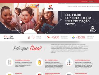 sejaetico.com.br screenshot