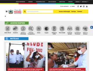 sejel.pb.gov.br screenshot