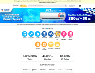 sejukelektronik.com screenshot