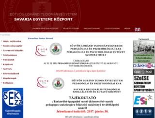 sek.nyme.hu screenshot