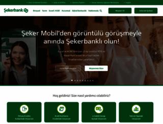 sekerbank.com.tr screenshot