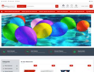 sekermalzemecisi.com screenshot