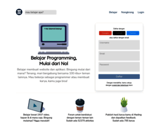 sekolahkoding.com screenshot