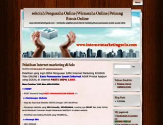 sekolahpengusahaonline.wordpress.com screenshot