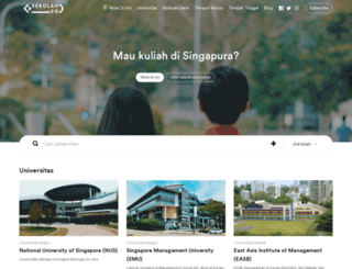 sekolahsg.com screenshot