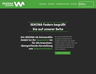 sekona.com screenshot